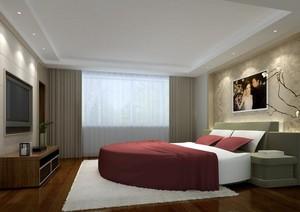 70平米现代小户型卧室装修效果图实例
