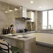 小户型欧式精美厨房设计装修效果图实例