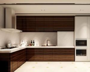 2016小户型欧式厨房橱柜设计装修效果图鉴赏