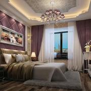 欧式风格精致简约大户型主卧室装修效果图