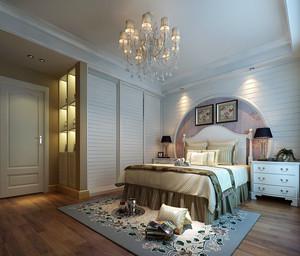 欧式田园风格精致室内卧室装修效果图鉴赏