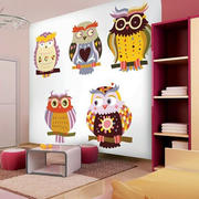 可爱卡通儿童房