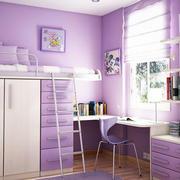 粉色梦幻儿童房效果图