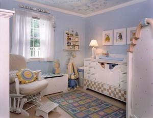 90平米现代简约风格时尚创意儿童房装修效果图大全