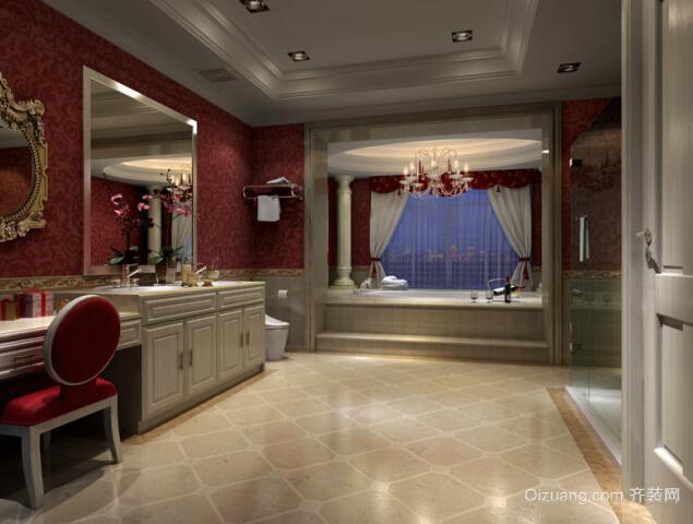 90平米欧式卫生间设计室内装修效果图