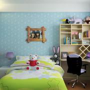 舒适的大户型儿童房装修效果图实例