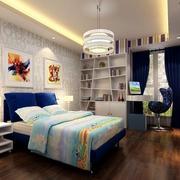 2016时尚的大户型儿童房卧室装修效果图鉴赏