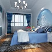 2016别墅地中海风格卧室设计装修效果图欣赏