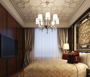 2016大户型欧式卧室吊顶装修效果图实例