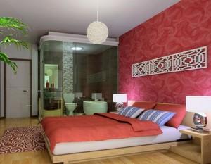 小户型卧室背景墙设计装修效果图实例