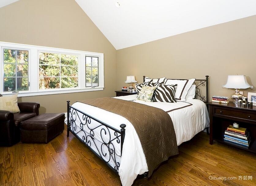 欧式小户型卧室吊顶设计装修效果图欣赏