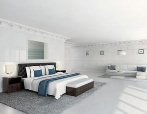 2016欧式别墅卧室设计装修效果图实例
