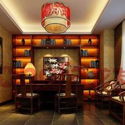 新中式风格书房装修