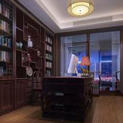 120平米书房装修效果图