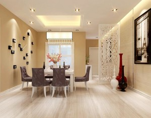 三居室餐厅吊顶设计装修效果图欣赏