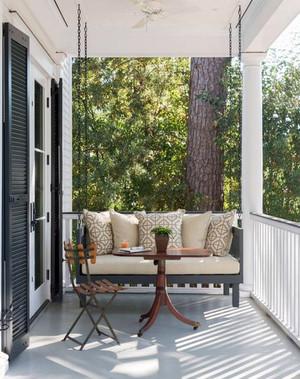10平米简约时尚创意家装阳台装修效果图大全