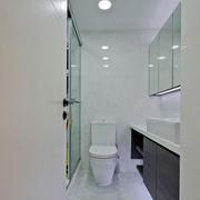 6平米现代简约风格室内卫生间装修效果图