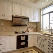 小户型欧式室内厨房设计装修效果图欣赏