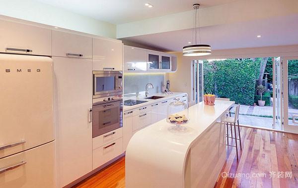 大户型现代简约风格精致室内开放式厨房装修效果图大全
