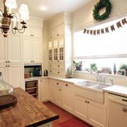 120平米经典欧式风格室内厨房装修效果图鉴赏
