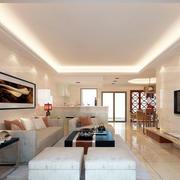 简约客厅整体设计