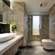2016别墅欧式卫生间设计装修效果图欣赏