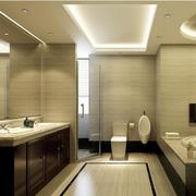 欧式风格小户型卫生间设计装修效果图欣赏