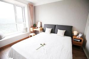 80平米北欧风格自然舒适室内实景公寓装修效果图