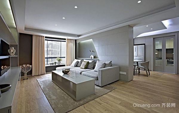 90平米温馨小家简约时尚室内公寓整体设计装修效果图