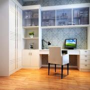 小户型现代书房设计装修效果图实例