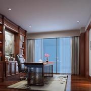 精美小户型现代书房吊顶装修效果图欣赏