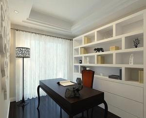 三居室都市室内书房装修效果图欣赏