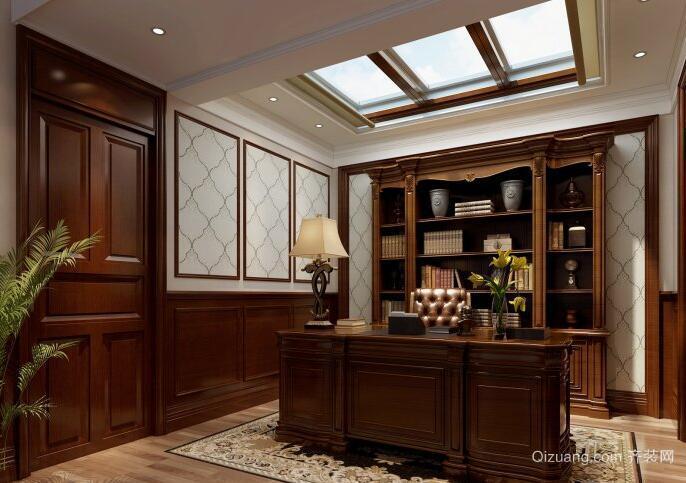 70平米小户型书房室内设计装修效果图实例