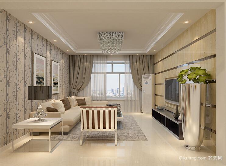 小户型欧式风格客厅室内装修效果图鉴赏