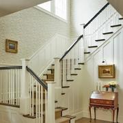 2016精致别墅型室内楼梯装修效果图实例