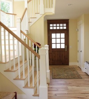 2016大户型欧式室内楼梯设计装修效果图欣赏