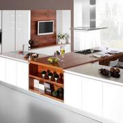 2016欧式精美厨房橱柜设计装修效果图鉴赏