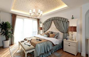 2016年全新款大户型地中海风格自然简约公寓装修效果图