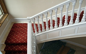 2016年全新款经典精致别墅型室内楼梯装修效果图大全