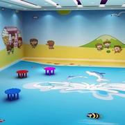 小户型现代简约创意充满童趣幼儿园教师布置装修效果图