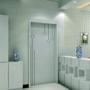 70平米现代简约风格进门玄关装修效果图