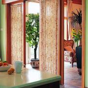 窗帘隔断设计