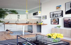 70平米精品小户型公寓设计装修效果图赏析