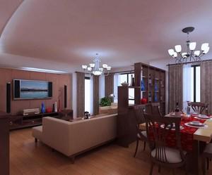 小户型客厅电视背景墙设计装修效果图实例