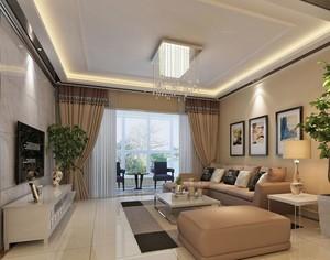 70平米小户型客厅室内设计装修效果图欣赏