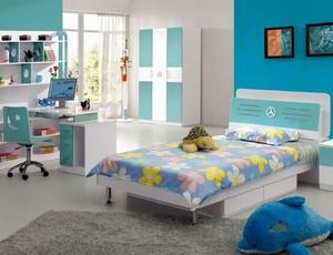 100平米欧式阁楼卧室背景墙设计装修效果图