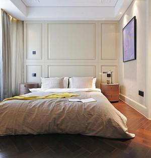 90平米大户型欧式风格卧室窗帘装修效果图