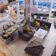 公寓俯视图