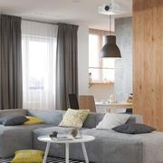 客厅窗帘设计