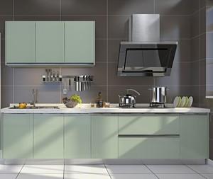 2016别墅欧式室内厨房橱柜设计装修效果图